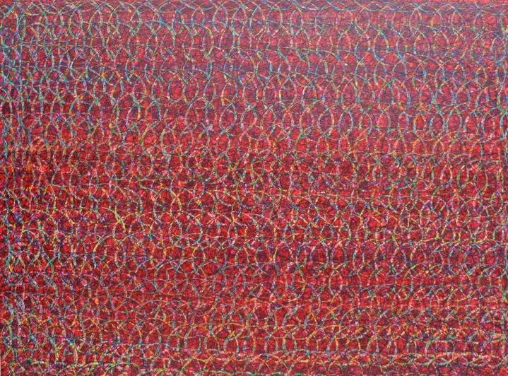 Étude nº 114, 2012. Acrylic on canvas. 120 x 160 cm.
