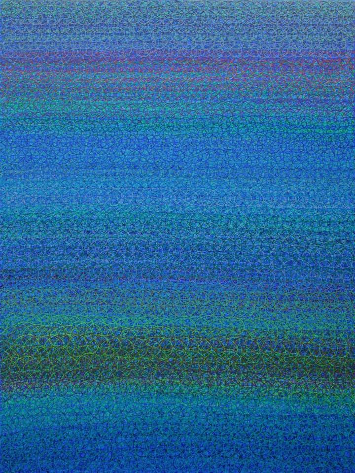 Étude nº 170, 2014 Acrylic on canvas 160 x 120 cm